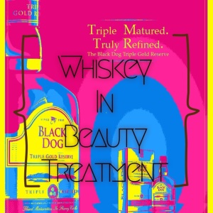 Whisky in beauty treatment